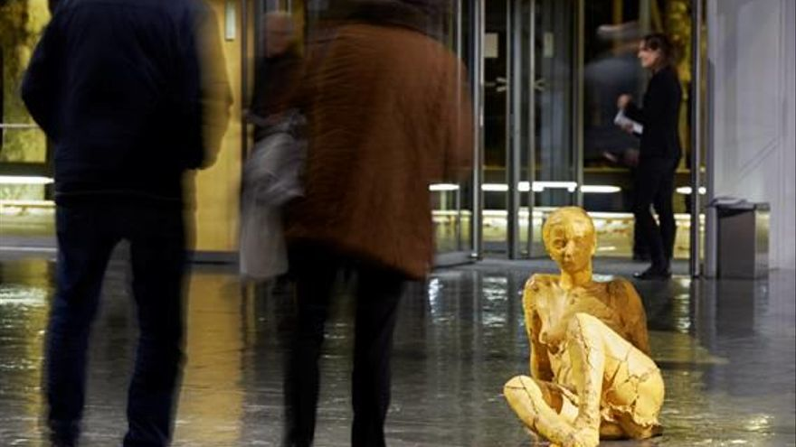 Escultures de Fita entren a l'Auditori de Girona