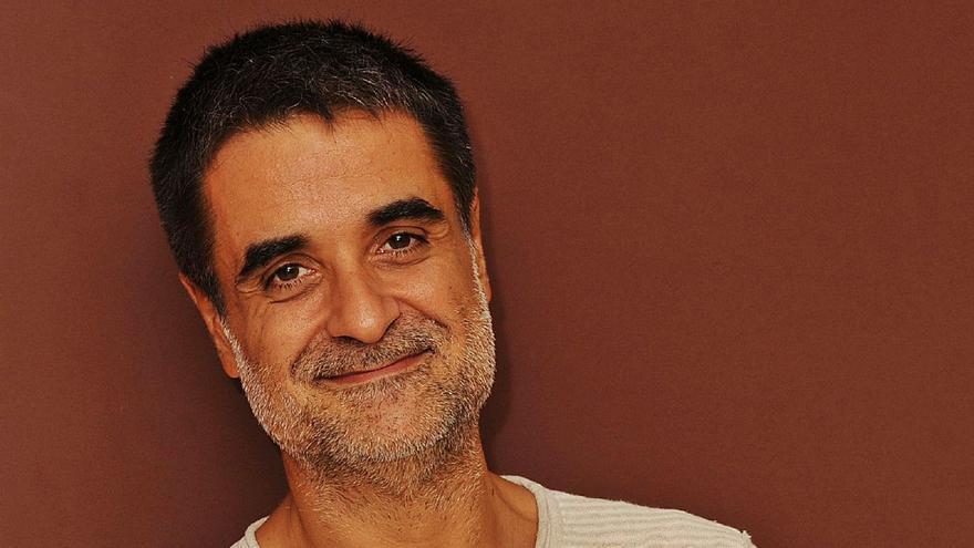 """El director teatral Esteve Ferrer, en Zamora: """"Estamos deseando que la población se vacune para volver a llenar teatros"""""""