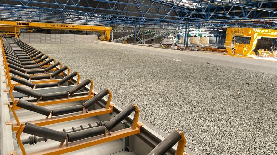 La planta de basuras El Campello instala la maquinaria de última generación para tratar de frenar los malos olores