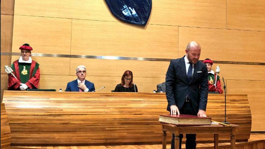 Toni Gaspar ya es el nuevo presidente de la Diputación de València