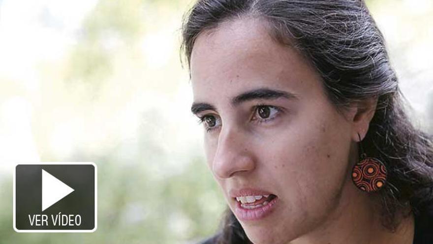 """María Gómez: """"Estamos a tiempo de que Palma no llegue a ser como Venecia"""""""
