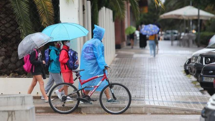 Tiempo en València: alerta amarilla por fuertes lluvias en Valencia
