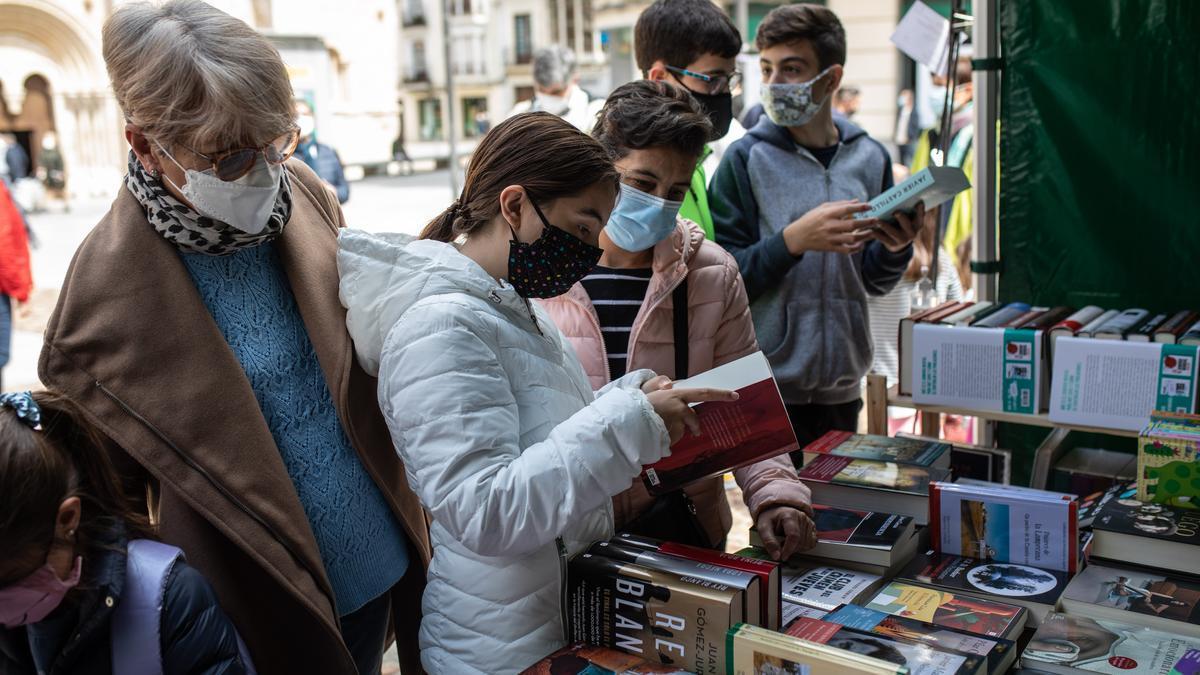 La Feria del Libro del pasado año en Zamora.