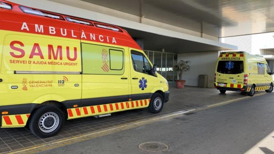 Un motorista herido tras colisionar contra un guardarraíl en Puebla de Arenoso