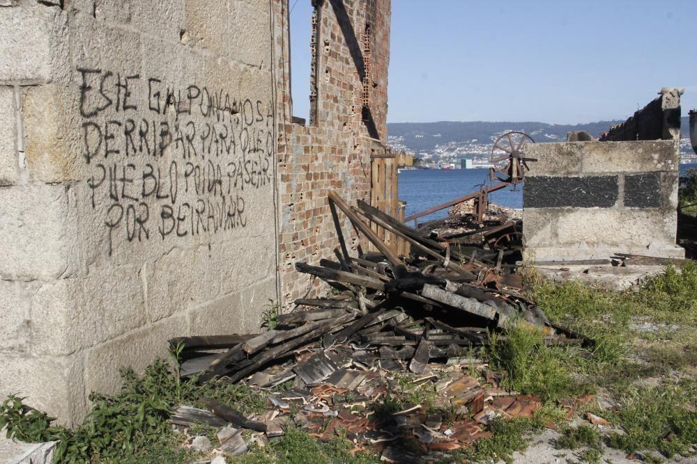 La alcaldesa señala que el gobierno continuará con la solicitud de reversión de las carpinterías al Concello para su recuperación y musealización