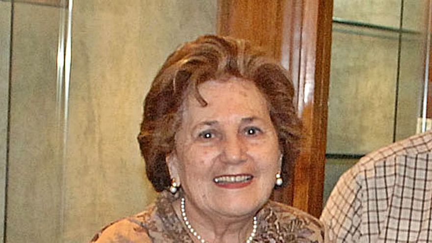 Fallece María Luisa Collera, viuda del popular joyero Adolfo Casaprima Álvarez