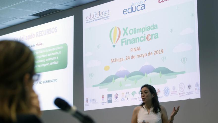 Proyecto Edufinet de Unicaja para la educación financiera
