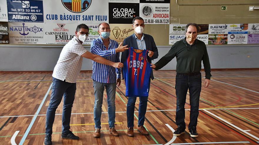 Alfred Julbe serà el director tècnic del CB Sant Feliu
