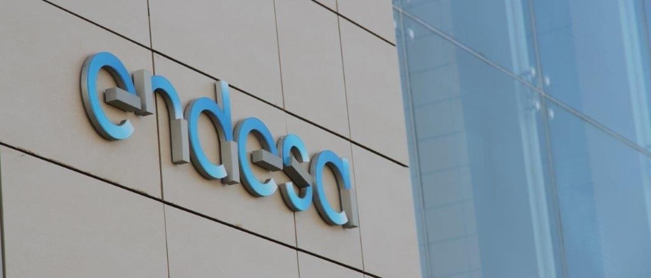 Una imagen del logotipo de Endesa.