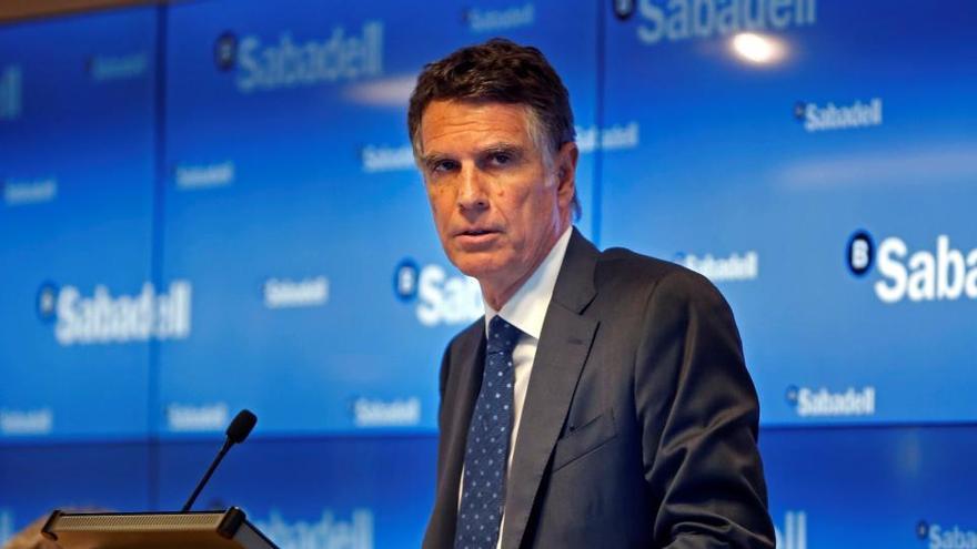 El Sabadell sube el 20% en cinco días, en medio de rumores de fusión
