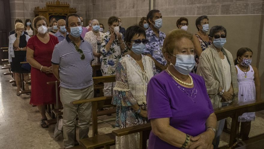 Misa solemne de la festividad de la Virgen del Tránsito en Zamora