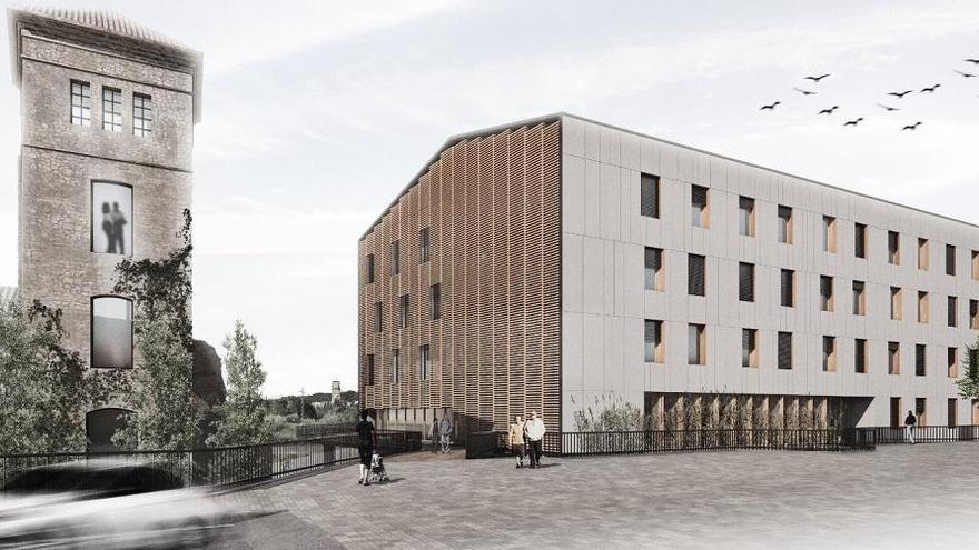 Sallent aprova el projecte executiu per fer la nova residència a la Fàbrica Vella