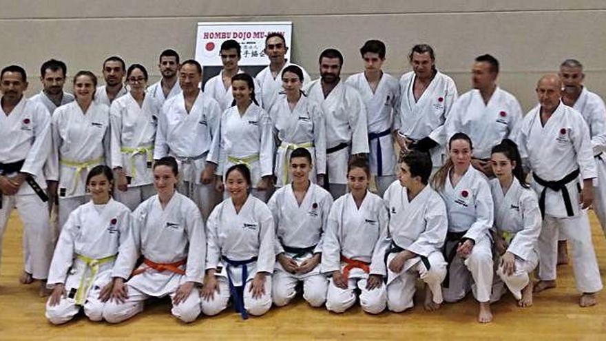 Esport7 va participar en un curs internacional de karate a Barcelona