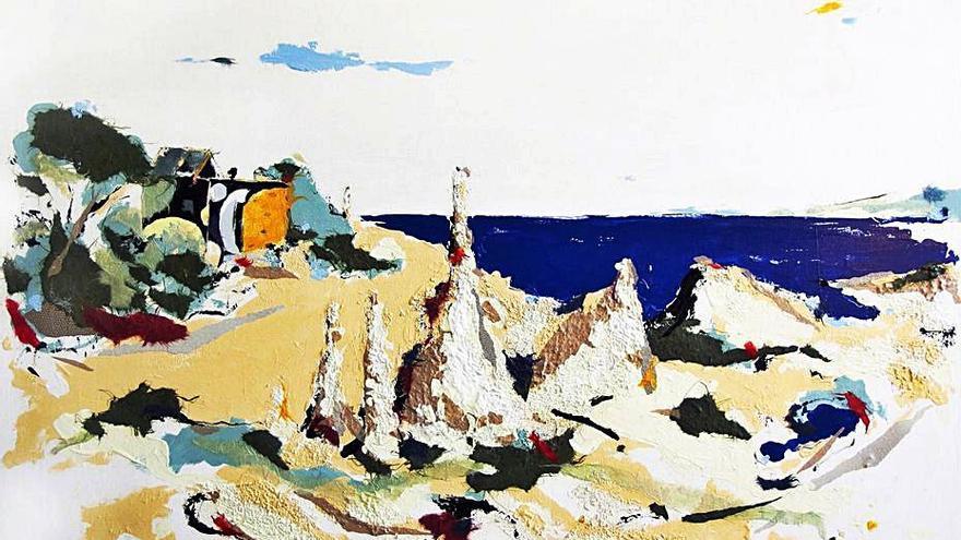 La obra de Diana Bustamante, en Galicia