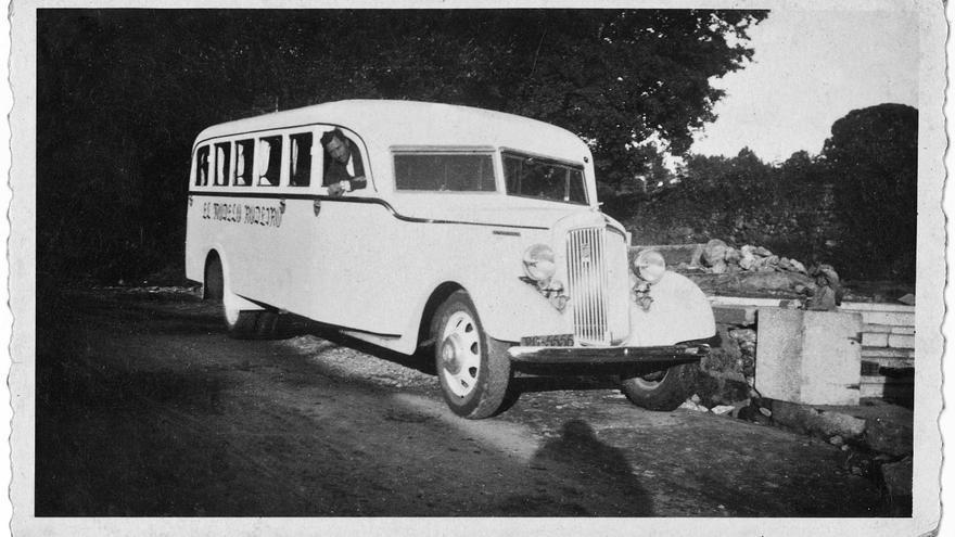'El Modelo de Rodeiro', primeiro bus de Camba