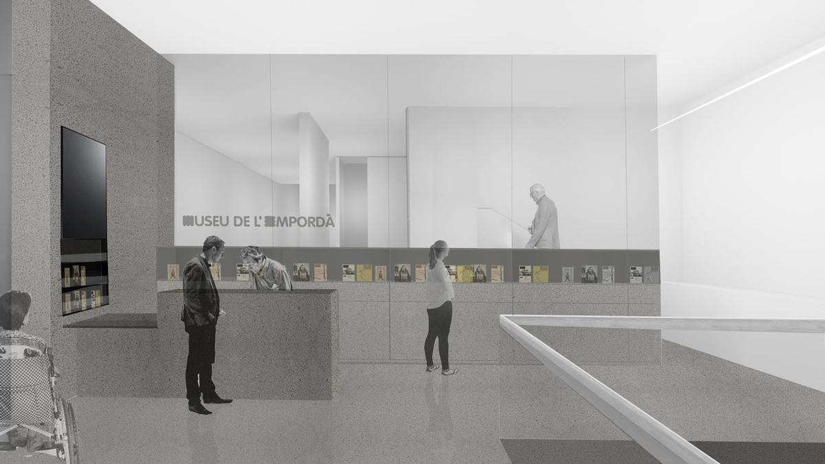El Museu de l'Empordà fa la reforma més ambiciosa dels últims anys