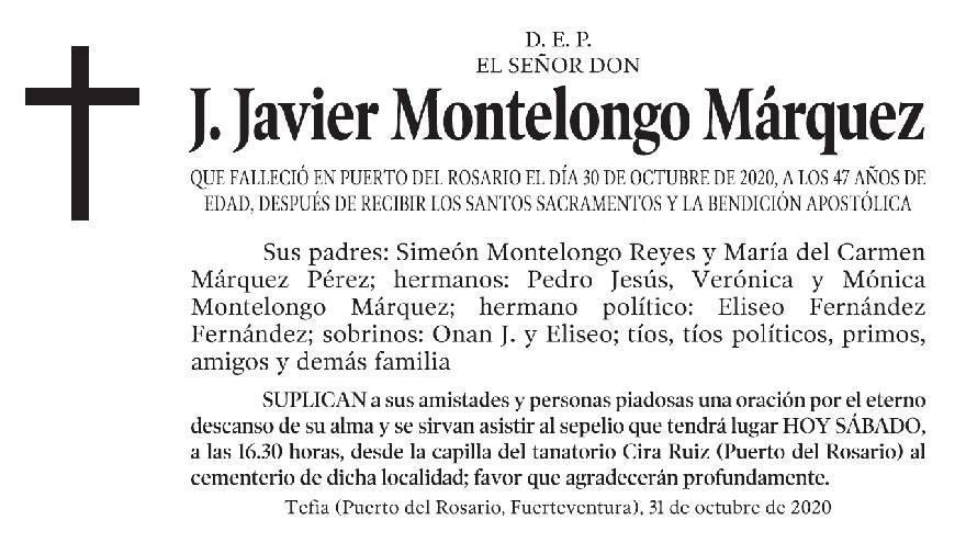J. Javier Montelongo Márquez