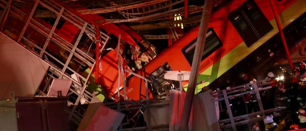 Accidente en el metro de Ciudad de México