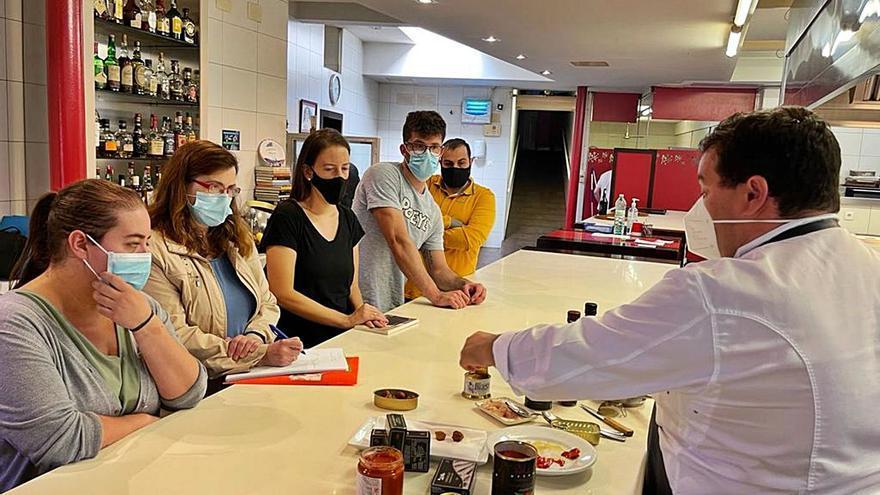 Hosteleros de Carreño preparan las Jornadas sobre la conserva