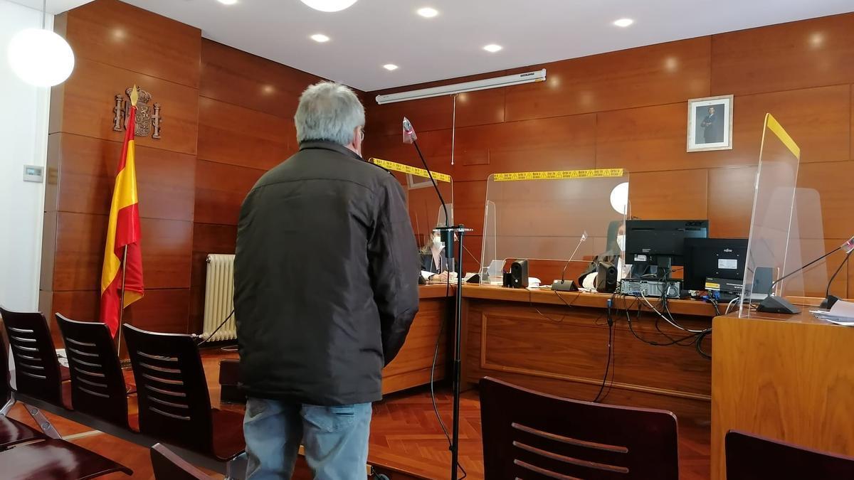 Acusado declara en el juicio