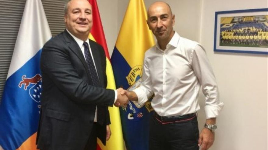 Pako Ayestarán portará el timón de la UD Las Palmas