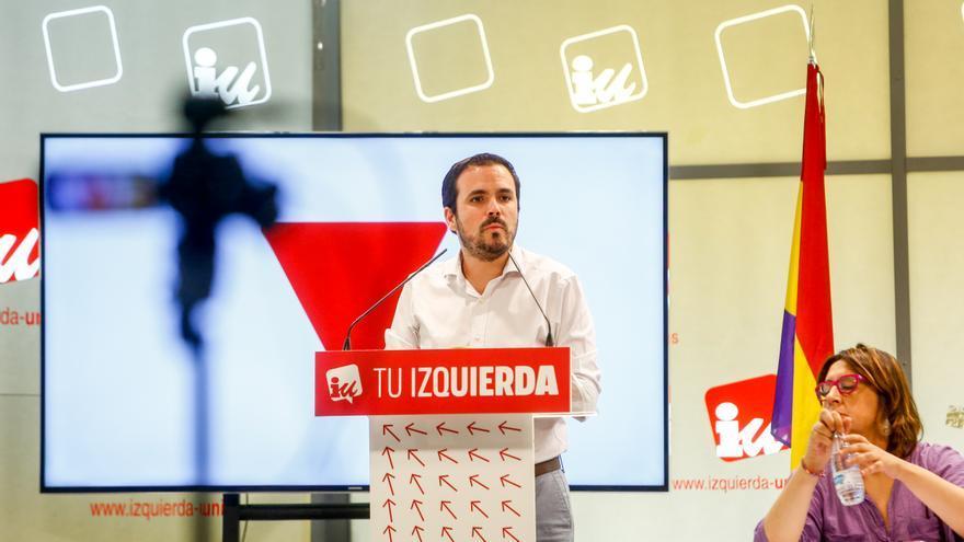Alberto Garzón, reelegido como coordinador de IU con un apoyo del 76%