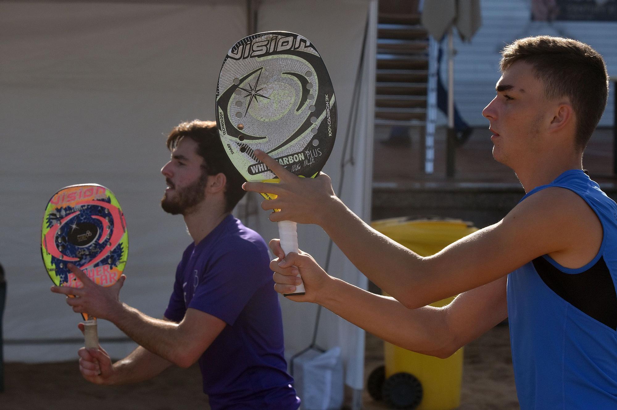 Las Canteras brilla con el mejor tenis playa internacional para cerrar el año