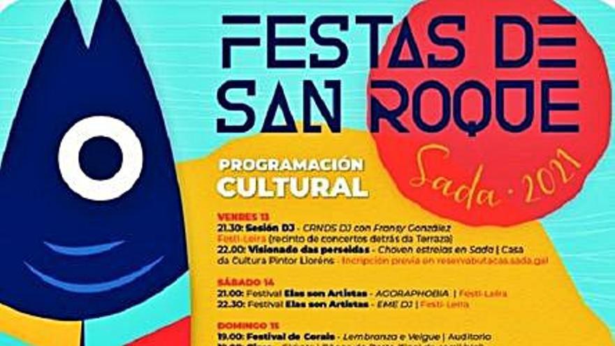 San Roque en Sada: ocho días de fiesta con conciertos como el de Agoraphobia
