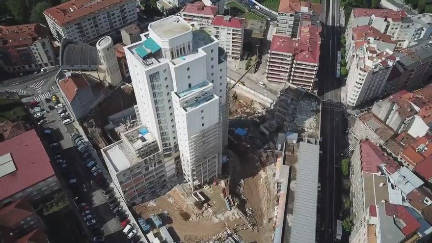 Del Xeral a la Ciudad de la Justicia, a vista de dron