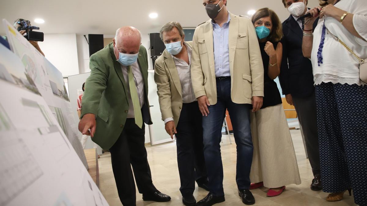 Presentación del proyecto de nuevo centro de salud de Alcolea en Córdoba.