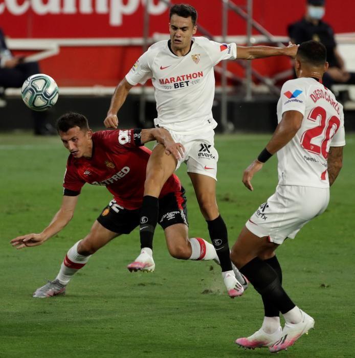 Sevilla - RCD Mallorca: El Mallorca se queda sin margen de error