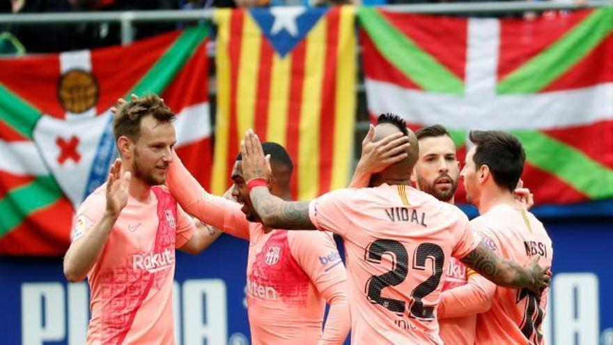 LaLiga Santander: Els gols de l'Eibar - FC Barcelona (2-2)