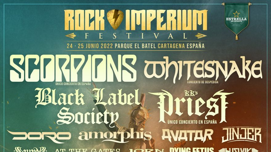 Te llevamos gratis al Rock Imperium Festival