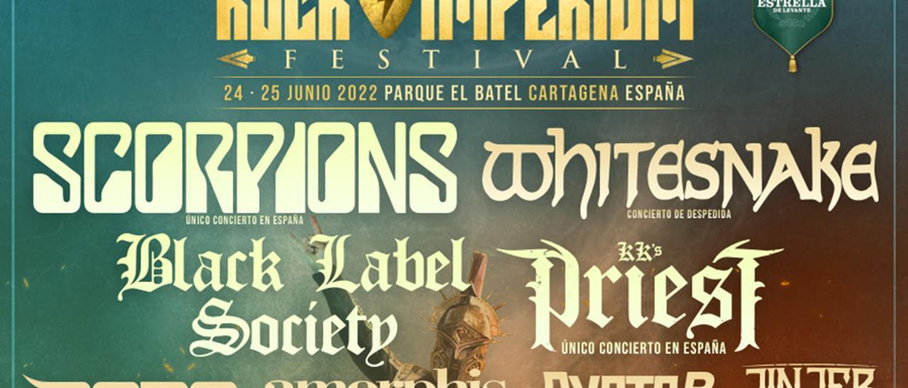 Ya tenemos ganadores de los abonos dobles del Rock Imperium Festival
