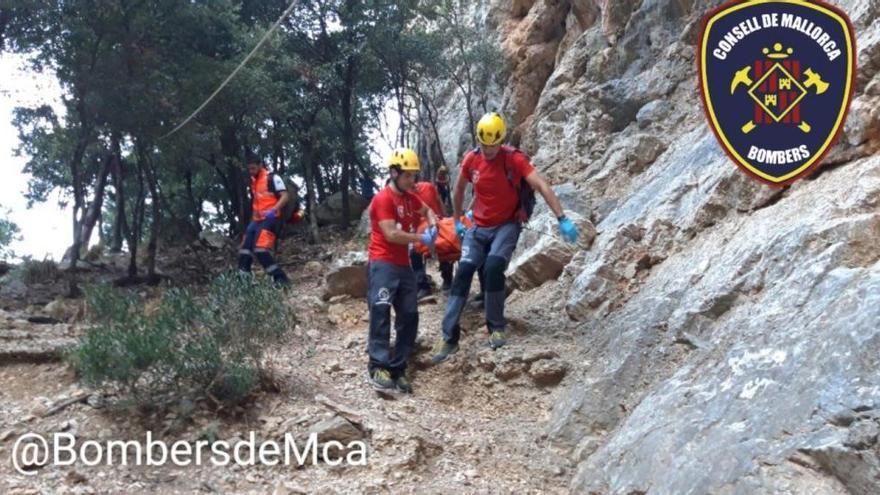 Kletterin nach Sturz im Gebiet des Gorg Blau gerettet