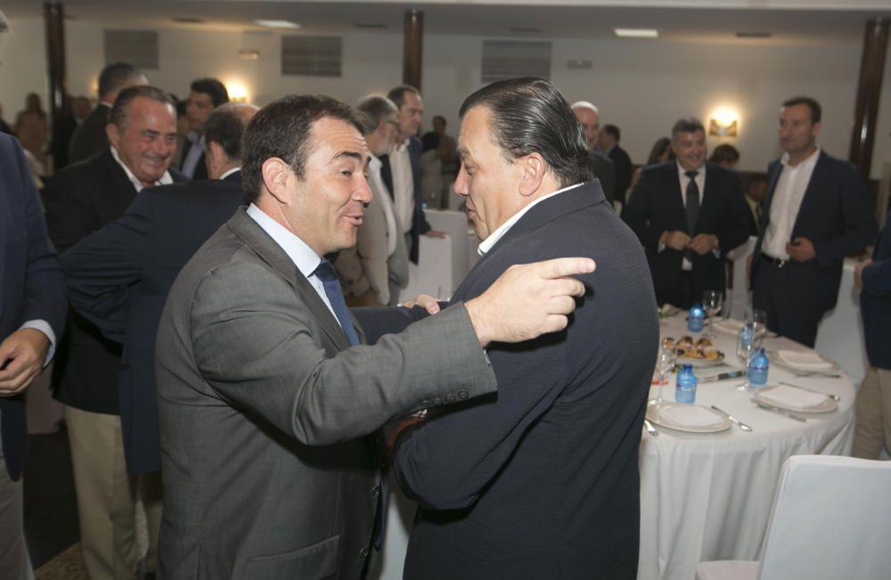 Manuel Illueca conversa con Antonio Arias