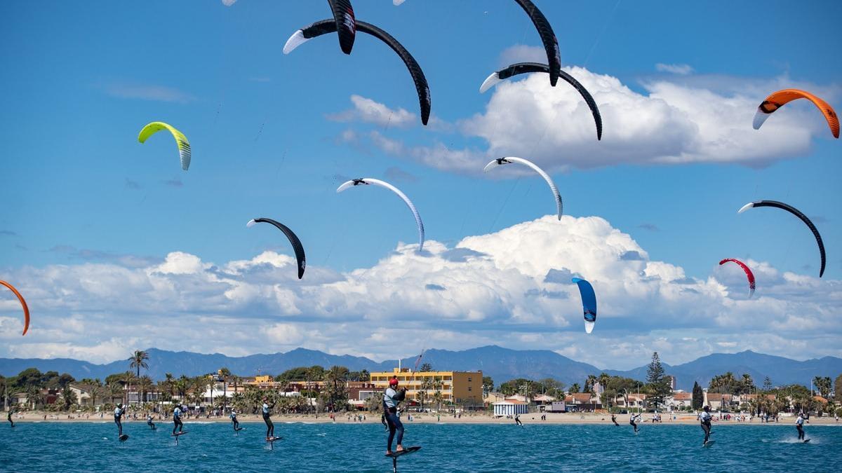 La playa del Gurugú será escenario de una espectacular competición.