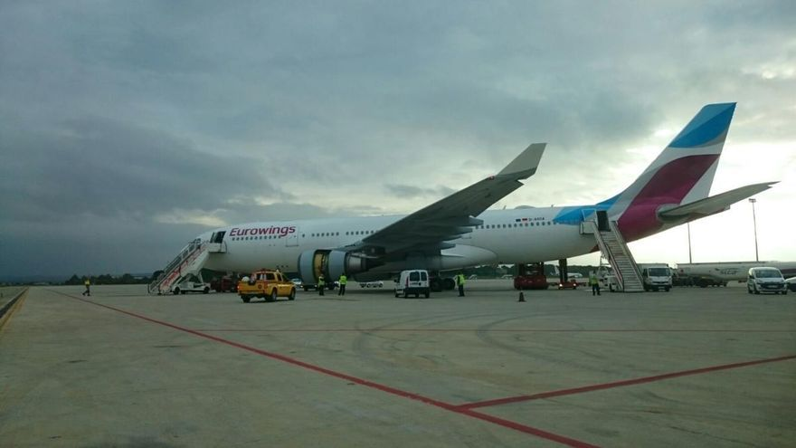 Las aerolíneas Eurowings y Condor siguen volando a Düsseldorf y Frankfurt
