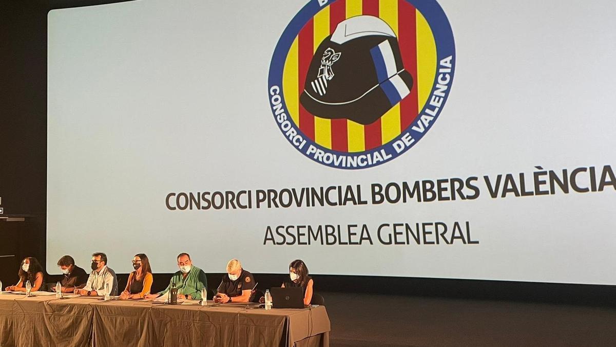 Asamblea anual del Consorcio Provincial de Bomberos de València