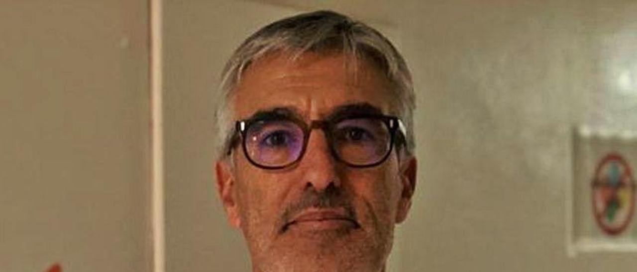 José Pastor, jefe de Pediatría.