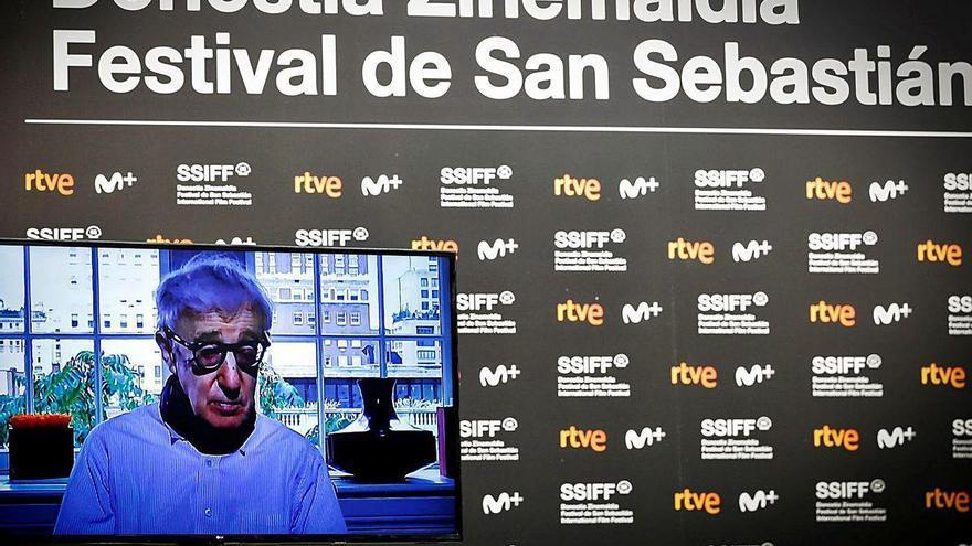 """Woody Allen asegura que le """"rompe el corazón"""" no poder asistir al Festival de San Sebastián"""