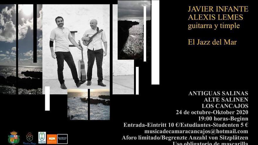 Concierto de Javier Infante y Alexis Lemes: 'El Jazz del Mar'