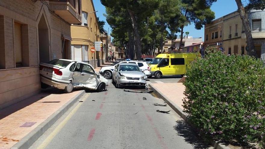 Fallece una mujer atropellada por un coche en Pinoso