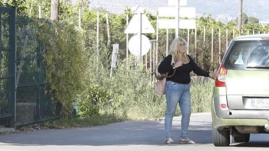 Prostitución en el Caminàs de Castelló