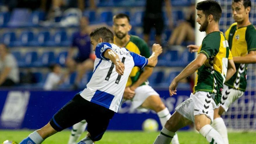El Hércules no sumaba tres derrotas seguidas desde abril de 2017