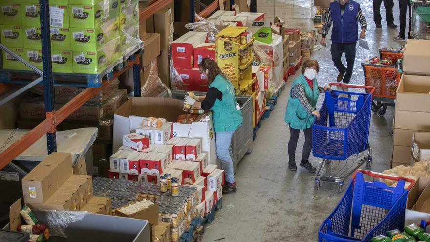 Més de 4 milions de quilos d'aliments arriben a la Comunitat Valenciana