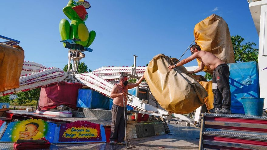 El Ayuntamiento de Pozoblanco permite instalar atracciones en el recinto ferial