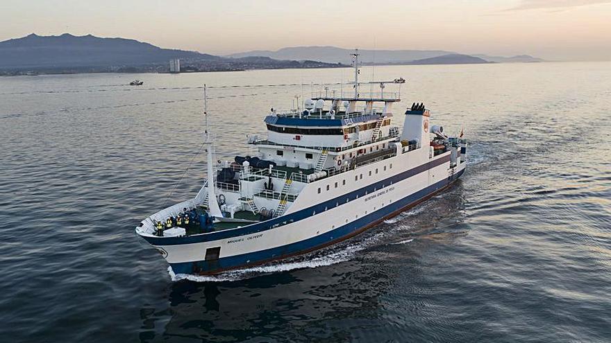 El buque 'Miguel Oliver' inicia su campaña Medits-Pitiusas 2021