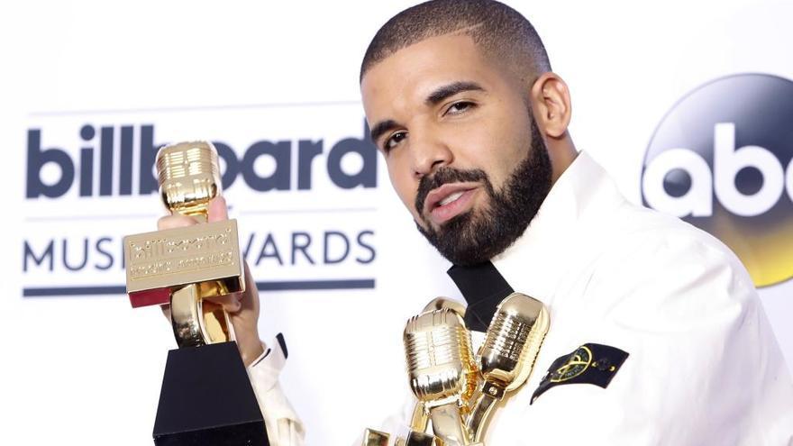 Drake consigue el número máximo de premios Billboard