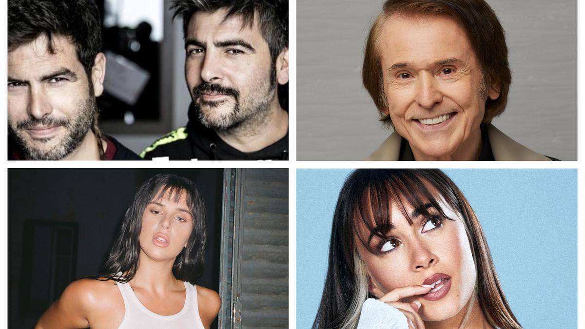 Artistas que actuarán este verano en Castellón.